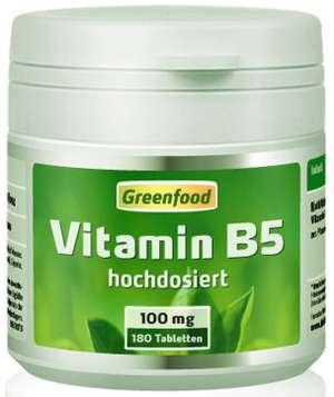 Vitamin b5 akne