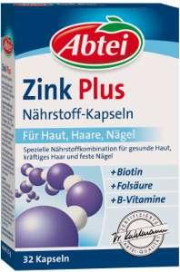 Zink tabletten fur haare und nagel